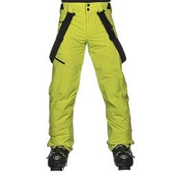 Obermeyer Force Suspender Mens Ski Pants, Green Flash, 256