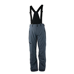 Obermeyer Force Suspender Short Mens Ski Pants, Ebony, 256