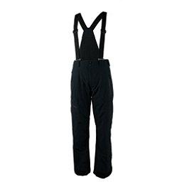 Obermeyer Force Suspender Long Mens Ski Pants, Black, 256