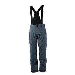 Obermeyer Force Suspender Long Mens Ski Pants, Ebony, 256