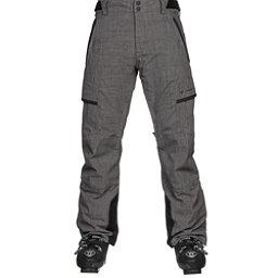 Obermeyer Ballistic Mens Ski Pants, Dark Heather Grey, 256