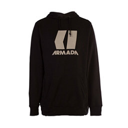 Armada Icon Mens Hoodie, Heather Grey-Black, 256