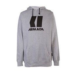 Armada Icon Mens Hoodie, Black-Canvas, 256