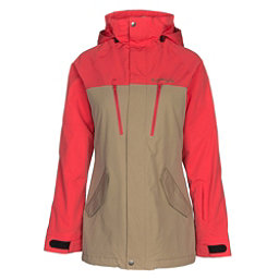 Armada Stadium Insulated Womens Insulated Ski Jacket, Khaki, 256