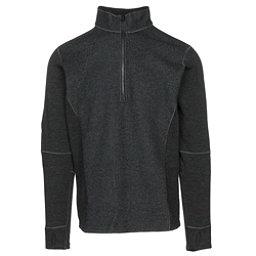 KUHL Skagen 1/4 Zip Mens Sweater, Black, 256