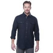 KUHL Descendr Long Sleeve Flannel Shirt, Mutiny Blue, medium