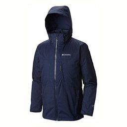 Columbia Whirlibird Interchange Tall Mens Insulated Ski Jacket, Collegiate Navy-Melange, 256