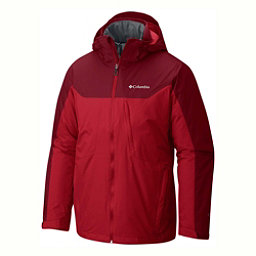 Columbia Whirlibird Interchange Big Mens Insulated Ski Jacket, Mountain Red-Beet, 256