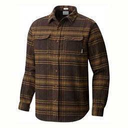 Columbia Deschutes River Flannel Shirt, Canyon Gold Plaid, 256
