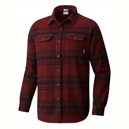 Columbia Deschutes River Flannel Shirt, Deep Rust Plaid, 256