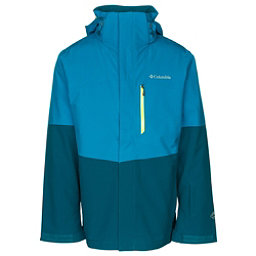 Columbia Wild Card Interchange Mens Insulated Ski Jacket, Dark Compass-Phoenix Blue, 256