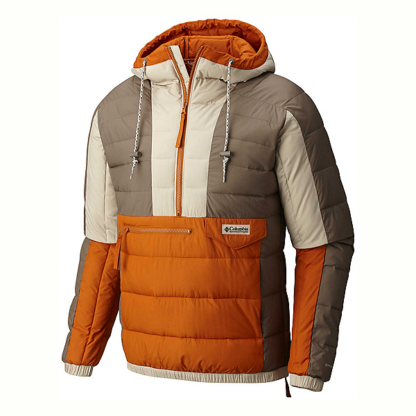 Columbia Norwester Anorak Pullover Puffy, Chaparral-Fossil, 600