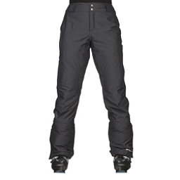 Columbia Bugaboo Womens Ski Pants, Black Crossdye, 256