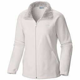 Columbia Dotswarm II Fleece Full Zip Womens Jacket, Sea Salt, 256