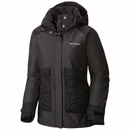 Columbia Alpensia Action Womens Insulated Ski Jacket, Black Crossdye, 256