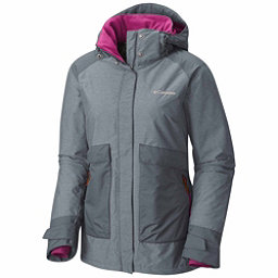 Columbia Alpensia Action Womens Insulated Ski Jacket, Grey Ash, 256