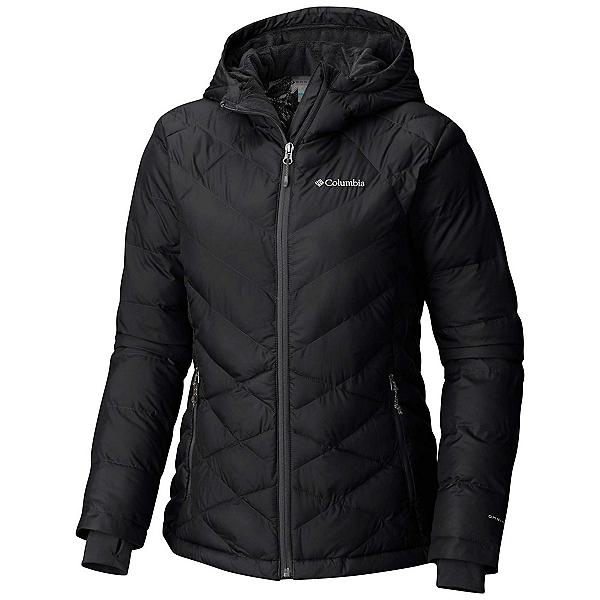 Columbia Heavenly Hooded Womens Jacket, Black, 600