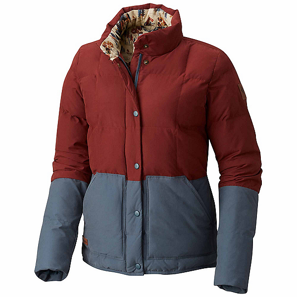 Columbia South Canyon Bluff Womens Jacket, Deep Rust-Mystery, 600