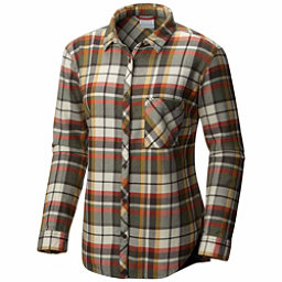 Columbia Deschutes River Flannel Shirt, Gravel, 256