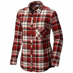 Columbia Deschutes River Flannel Shirt, Sail Red, 256