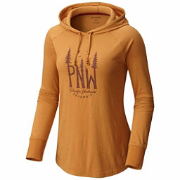 Columbia Deschutes River Womens Hoodie, Canyon Gold, 256