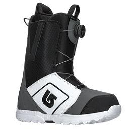 Burton Moto Boa Snowboard Boots 2018, White-Black-Gray, 256