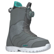 Burton Mint Boa Womens Snowboard Boots 2018, Gray, medium