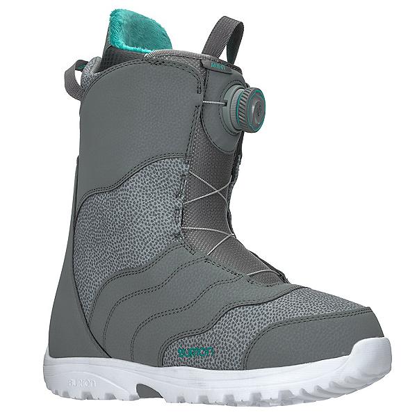 Burton Mint Boa Womens Snowboard Boots 2018, Gray, 600