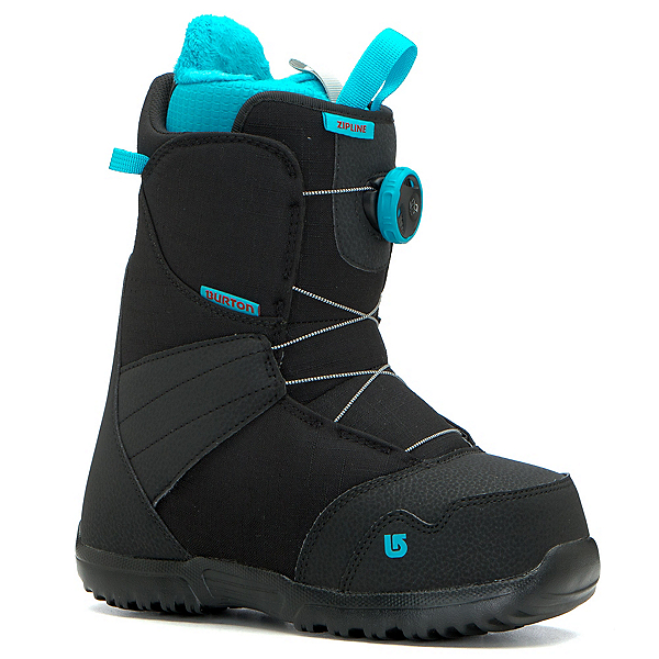 Burton Zipline Boa Kids Snowboard Boots 2018, , 600