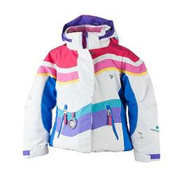 Obermeyer North-Star Toddler Girls Ski Jacket, White, 256