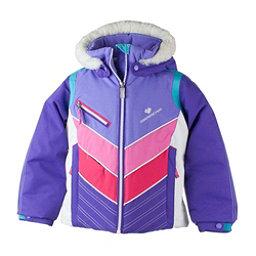 Obermeyer Sierra w/ Faux Fur Toddler Girls Ski Jacket, Grapesicle, 256