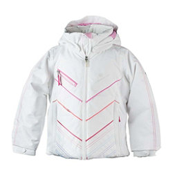 Obermeyer Sierra Toddler Girls Ski Jacket, White, 256