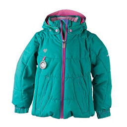 Obermeyer Marielle Toddler Girls Ski Jacket, Evergreen, 256