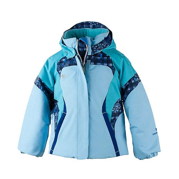Obermeyer Alta Toddler Girls Ski Jacket, Bleu Sky, 600