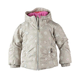 Obermeyer Crystal Toddler Girls Ski Jacket, Frost Crystals, 256