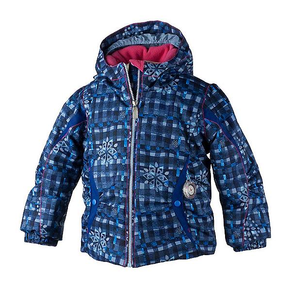 Obermeyer Crystal Toddler Girls Ski Jacket, Everyday Blues, 600