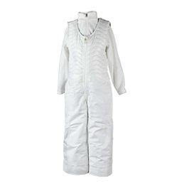 Obermeyer Ober-All Bib Toddler Girls Ski Pants, White, 256