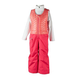 Obermeyer Ober-All Bib Toddler Girls Ski Pants, Island Sunset, 256