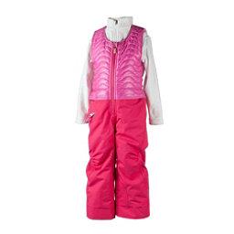 Obermeyer Ober-All Bib Toddler Girls Ski Pants, Smitten Pink, 256