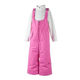 Obermeyer Snoverall Toddler Girls Ski Pants, Peony Pink, 256