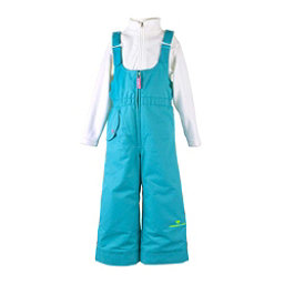 Obermeyer Snoverall Toddler Girls Ski Pants, Sparkle Blue, 256