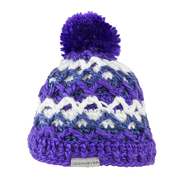 Obermeyer Averee Knit Toddler Girls Hat, Grapesicle, 600