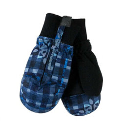 Obermeyer Thumbs Up Print Toddler Girls Mittens, Everyday Blues, 256