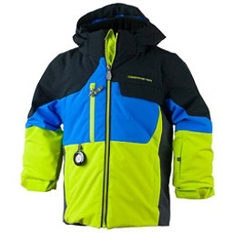 Obermeyer Torque Toddler Boys Ski Jacket, Stellar Blue, 256