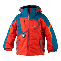 Obermeyer Super G Toddler Boys Ski Jacket, Red, 256