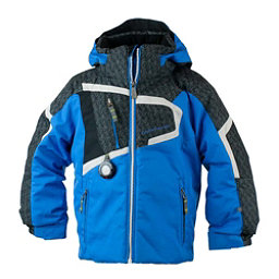 Obermeyer Super G Toddler Boys Ski Jacket, Stellar Blue, 256