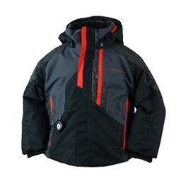 Obermeyer Meteor Toddler Ski Jacket, Black, 256