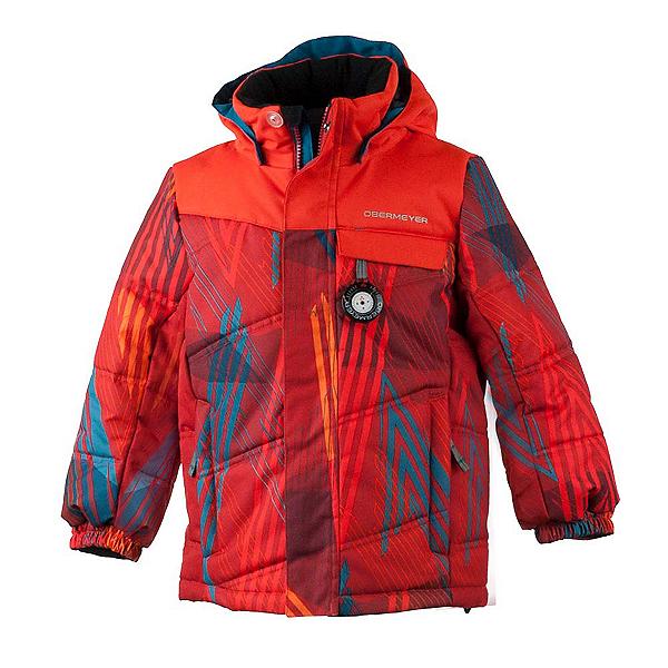 Obermeyer Hawk Toddler Ski Jacket, Thunder Red, 600
