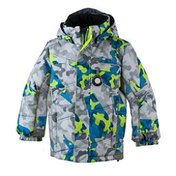 Obermeyer Hawk Toddler Ski Jacket, Fractal Camo, 256