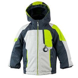 Obermeyer Scout Toddler Boys Ski Jacket, Fog, 256